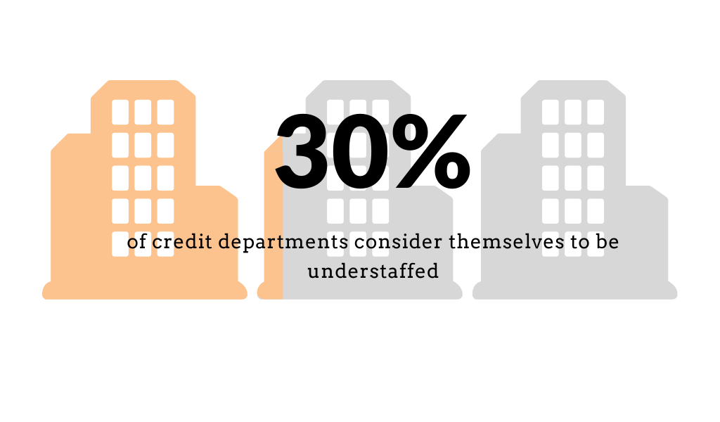 credit departments are understaffed