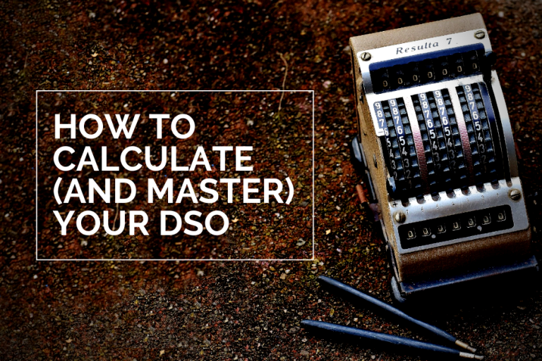 How to Reduce & Calculate DSO