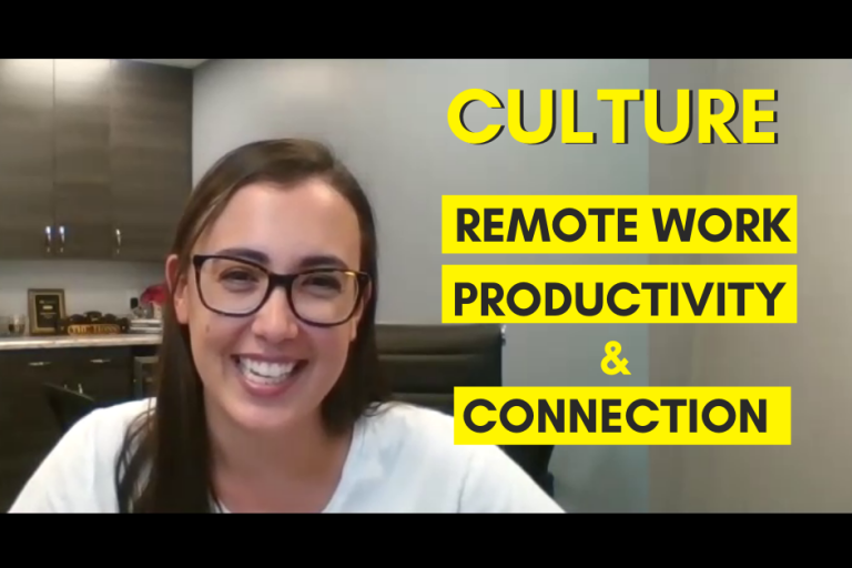 Interview with Alysia- Building Culture