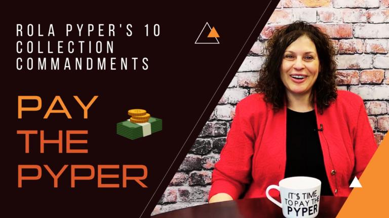 (VIDEO) Rola Pyper's 10 Collection Commandments